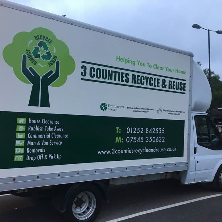 3 counties recycle & reuse van